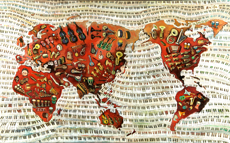 私版万国全図