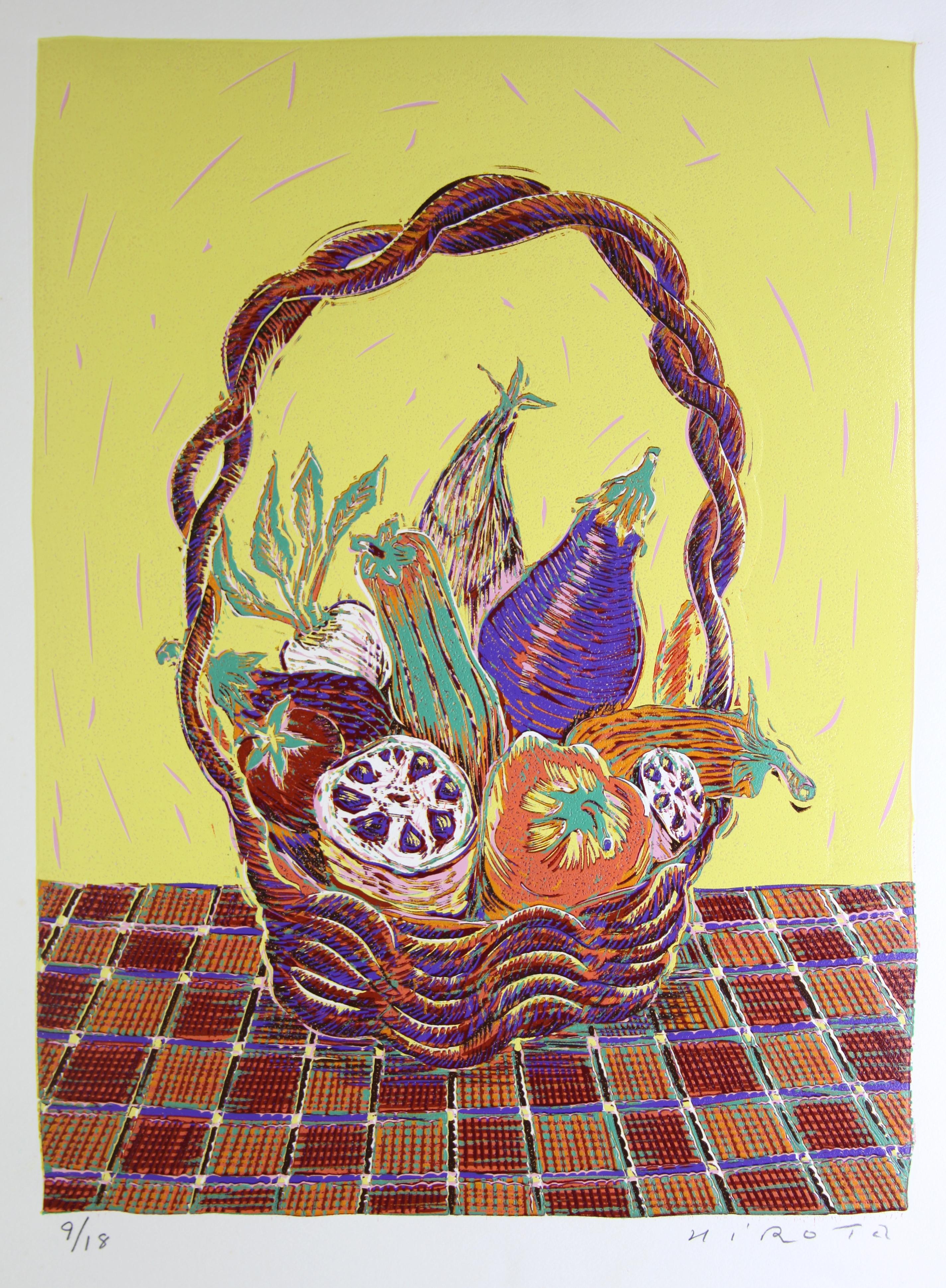 籠の夏野菜 2