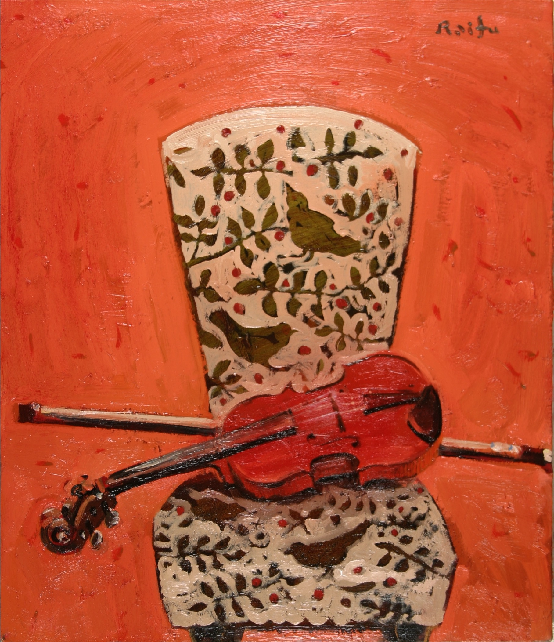 椅子のヴァイオリン