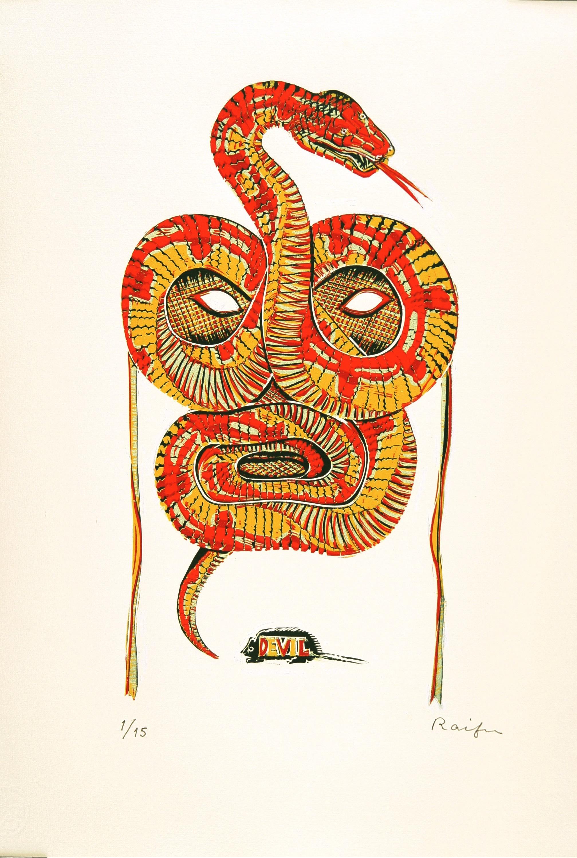 悪魔の仮面