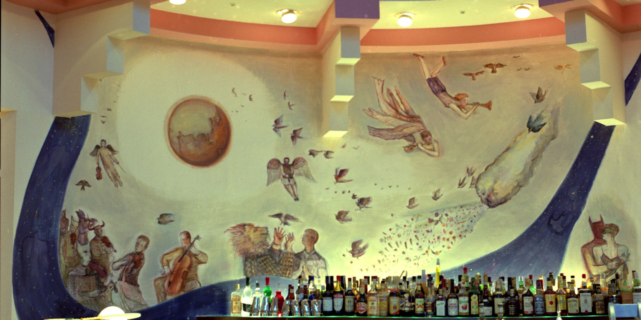 チャイナクラブ壁画