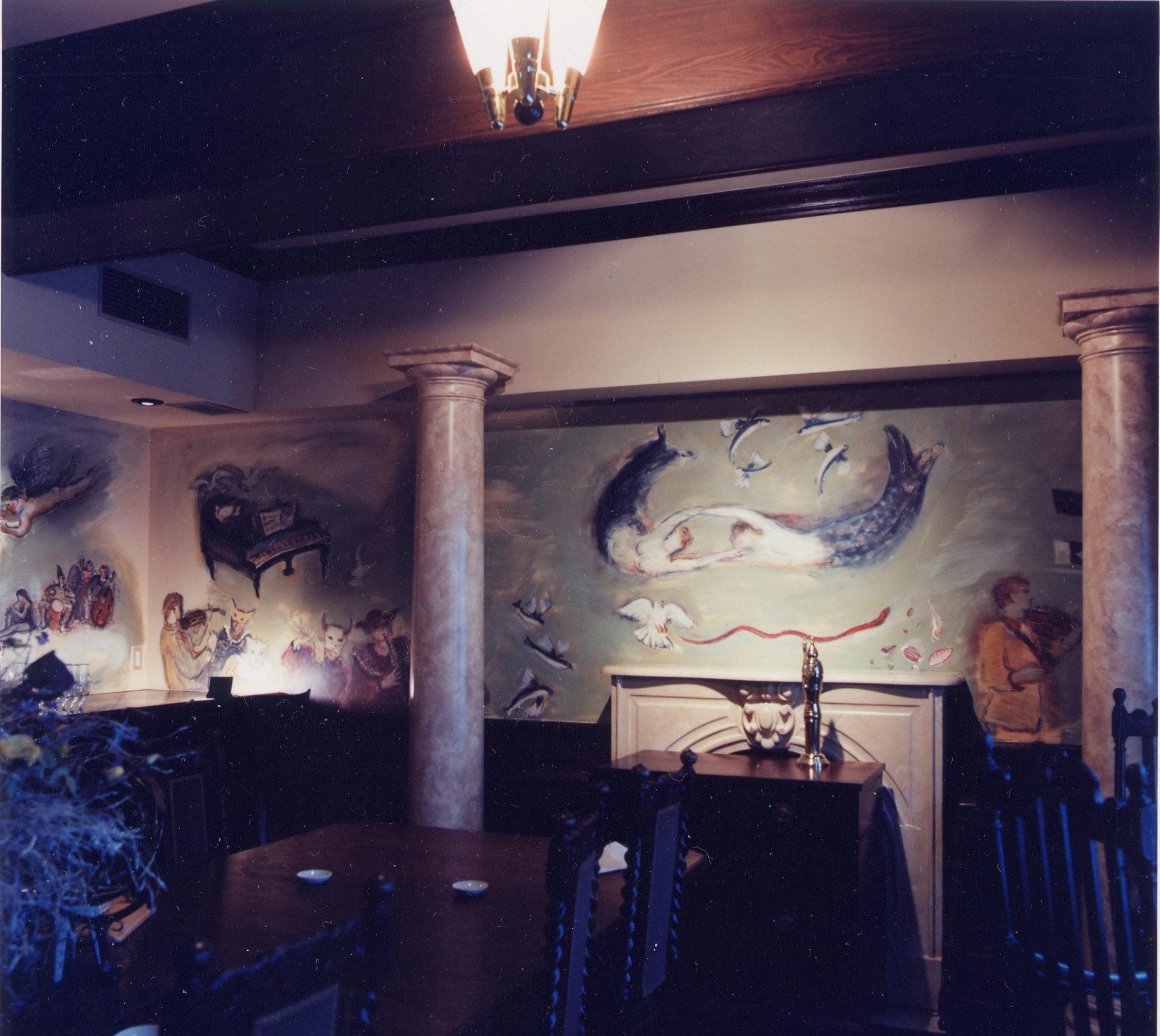 銀座ヨットクラブ壁画 1