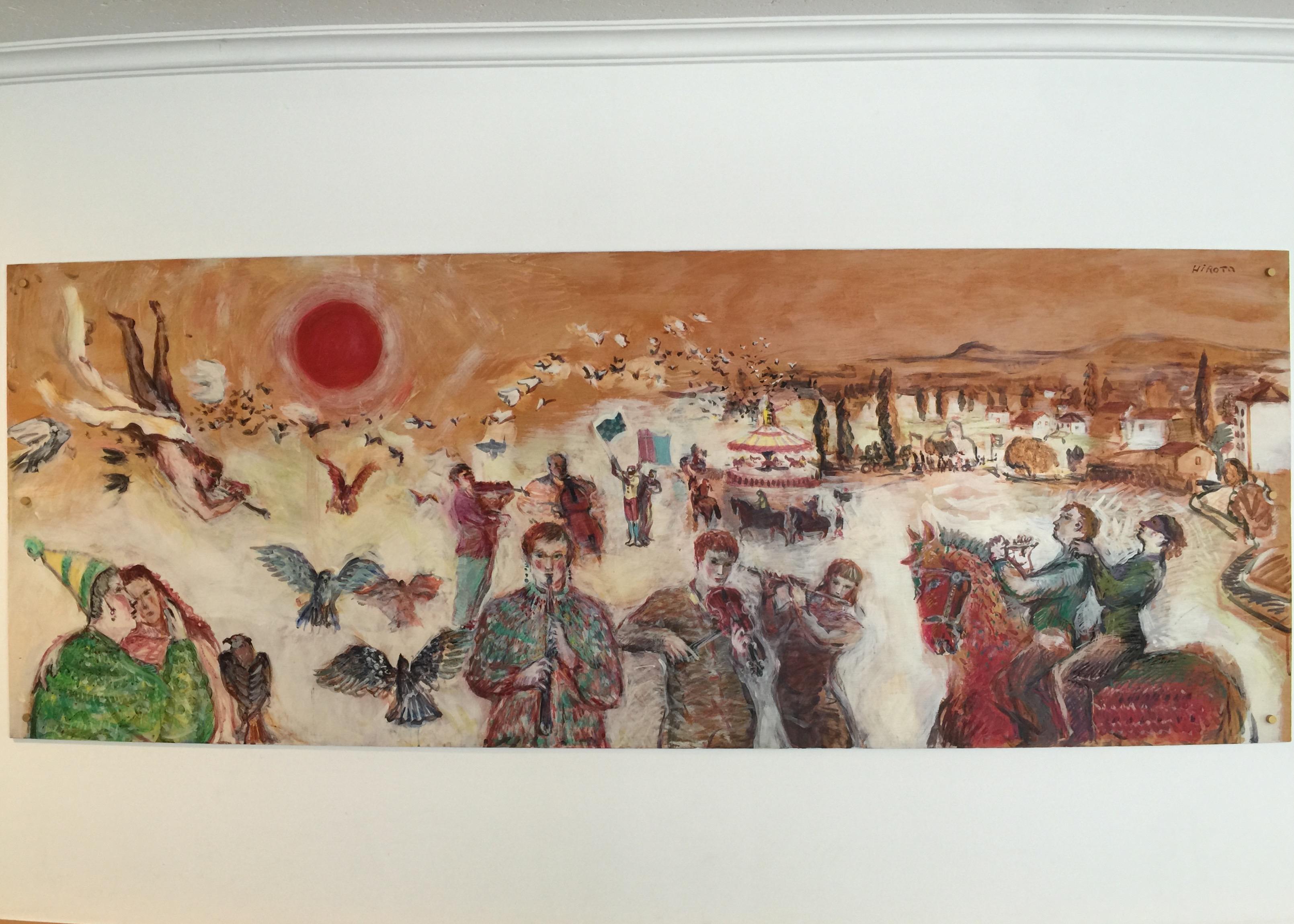 ライオンズヒルス壁画 2